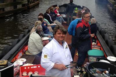varen amsterdamse grachten savonds