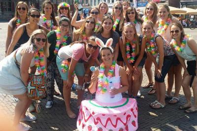 vrijgezellenfeest vrouwen - De Vrijgezelle Meisjes 2014